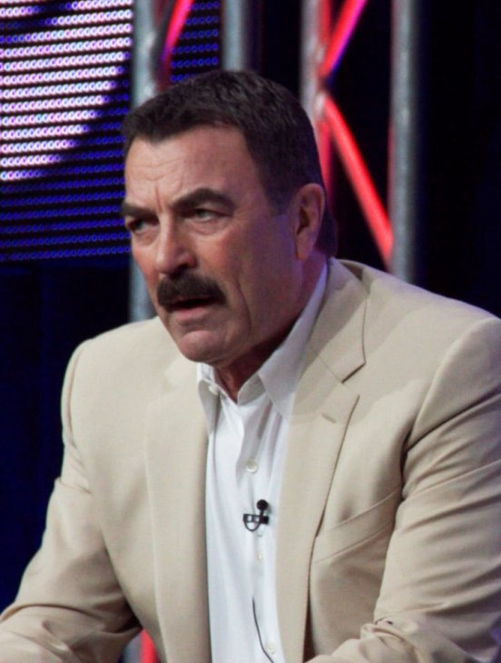 Tom Selleck I think he got better with age!   A HUNK is a HUNK!!