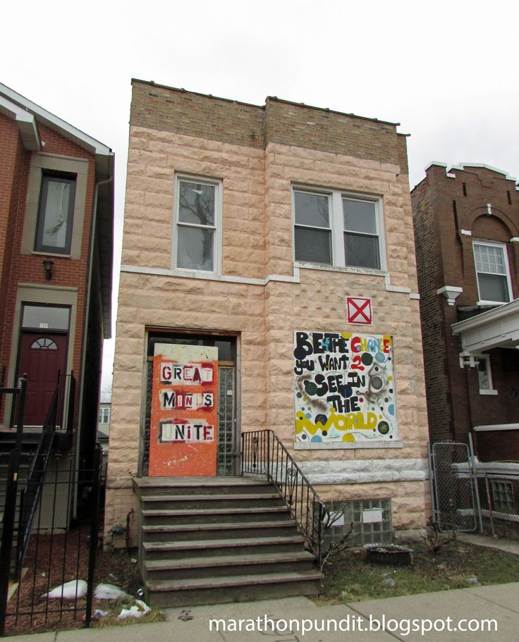 Last Week I Visited Another Of The Chicago Neighborhoods That Would Be Classified As Overlooked Were