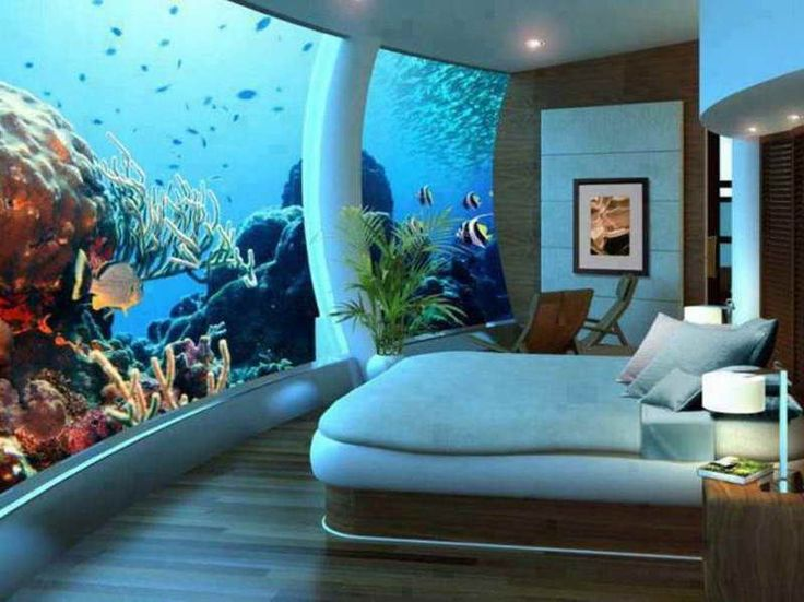You Have To Love Fish And The Sea To Have This Room