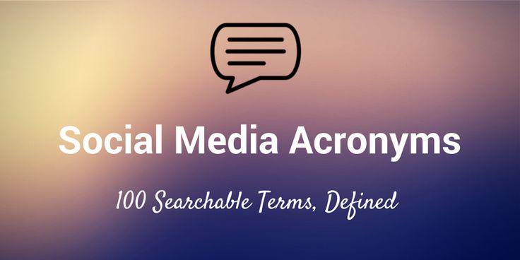 Glossário social media acronimos e abreviaturas (inglês)