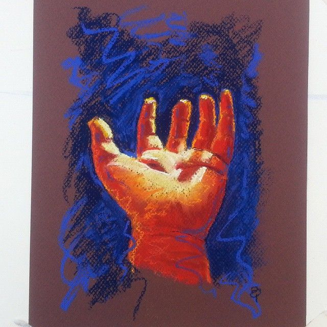 Hand number three by Liz Powley #100hands
