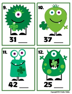 cute freebie...What Number Comes Next.  Use for those that always finish early!?