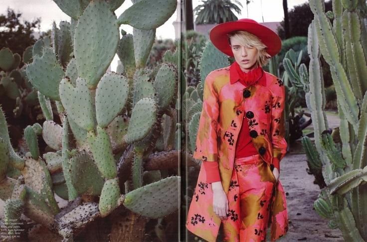 Fashion Quarterly Autumn issue - Trelise Cooper Glam Slam coat and Walk Of Art pant