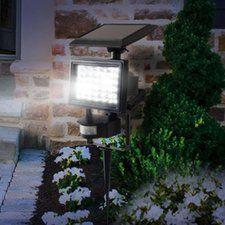 Shopping For  Motion Sensor Solar 30-Light LED Spot Light