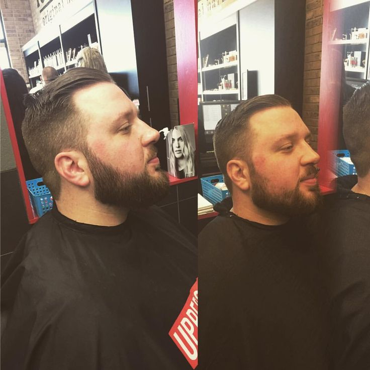 "42 Likes, 4 Comments - Maria E-B (@grizlybarber) on Instagram: ""This is Adam! When he first came to me he was looking for some beard advice! On the left is his…"""