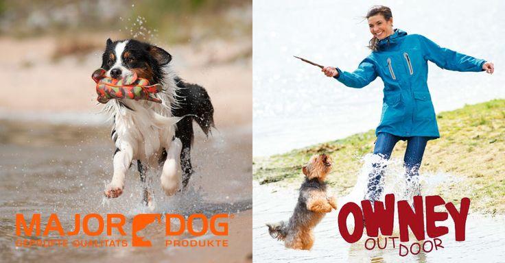 De combinatie van Owney outdoor kleding en het Major Dog speelgoed maakt de wandeling met je hond perfect!