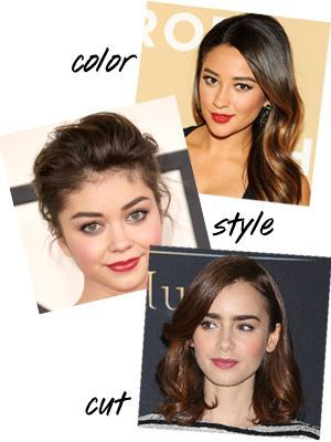 102 Best Images About Shoulder Lenght Hair Styles On