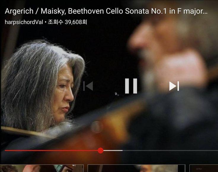 #... 베토벤 첼로소나타 1번. 마르타 아르헤리치 피아노. 미샤 마이스키 첼로 #오늘의 음악 #Beethoven #Cello Sonata #Martha Argerich  #Mischa Maisky  #갓포산 #갓포요리 #청담 #청담맛집 http://misstagram.com/ipost/1552517972923460616/?code=BWLpt7rgywI