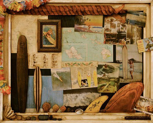 Hawaii, Surf, Travel, Vintage.