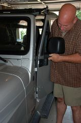 How To Remove Jeep Doors *AND* Keep The Dome Light Turned Off (...And How To Put The Doors Back On, Too)