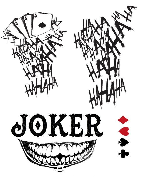 17 meilleures id es propos de jared leto joker tattoo for Joker damaged tattoo