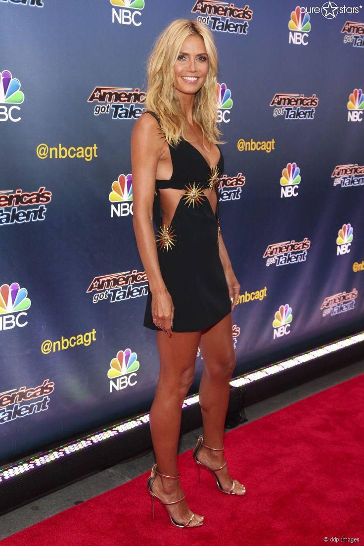 """Heidi Klum zeigte sich am 11. August 2015 bei der Pre-Show von """"America's Got Talent"""" in New York so sexy wie nie."""