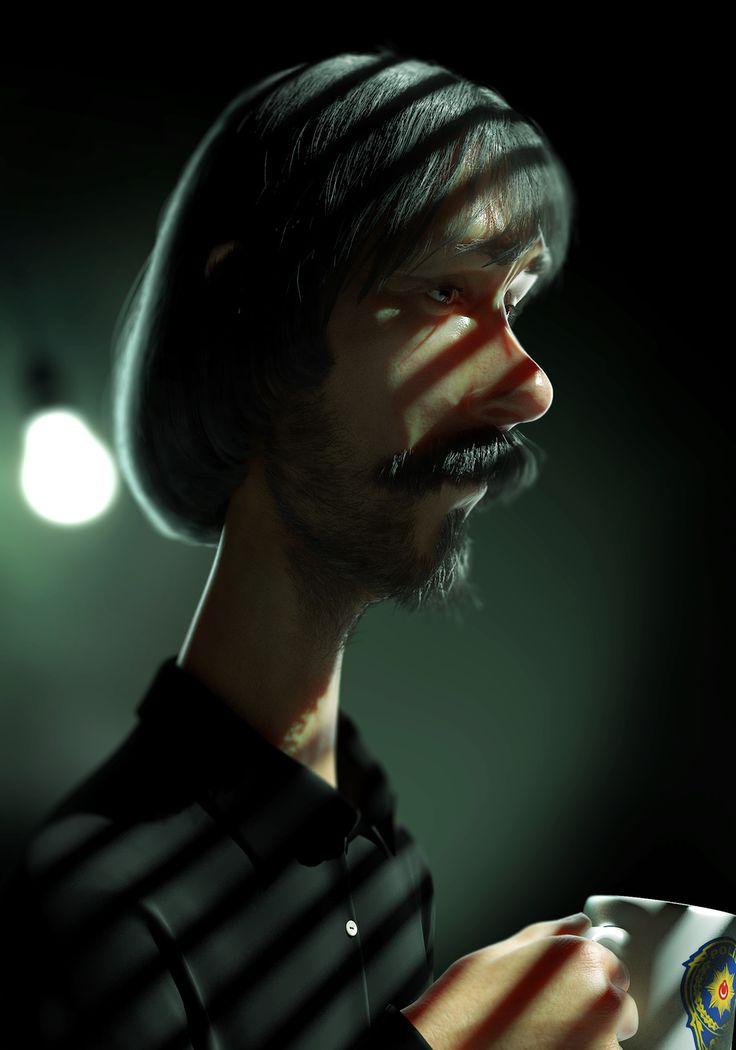 Behzat Ç. by Mehmet Fatih Usta | Cartoon | 3D | CGSociety