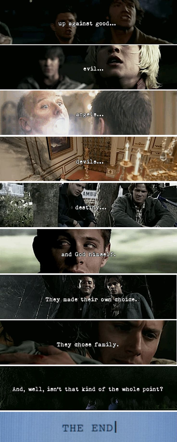 "[SET OF GIFS] ""No doubt, endings are hard.  But then again, nothing ever really ends, does it?"""