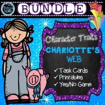 Charlotte's Web Character Traits Bundle