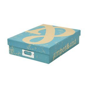 $12.95, View more details for GO Stationery A4 Kraft Storage Box Teal
