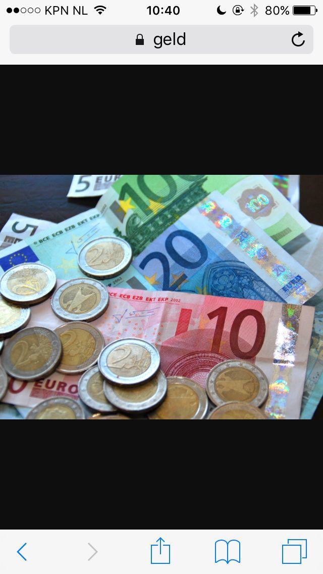 Ik heb even een voorbeeld van (munt)geld opgezocht. Zelf heb ik deze les ook muntgeld bij me zodat ik de muntje qua vorm goed kan na maken.