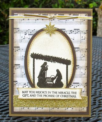 Stampin' Up! Joyful Nativity Krystal's Cards #stampinup #krystals_cards #joyfulnativity