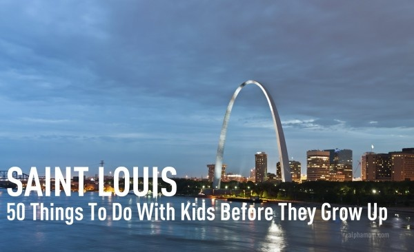 We've done a ton of these, but I can't wait until the kids are old enough to do more of these 50 things in St. Louis.
