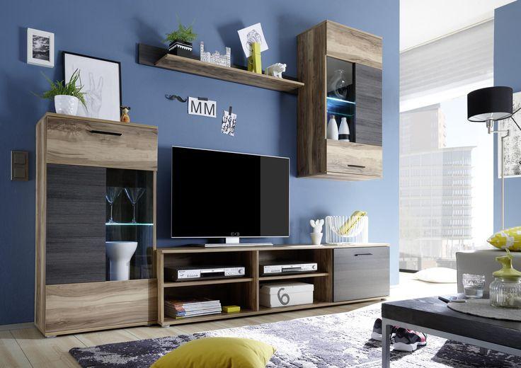 Obývací stěna FRONTAL 1 - Sconto Nábytek