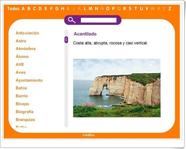 Glosario de términos de Ciencias Naturales y Ciencias Sociales