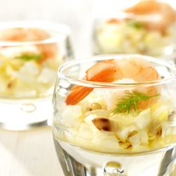 Hapje met witloof en reuzengarnaal - Colruyt Culinair !