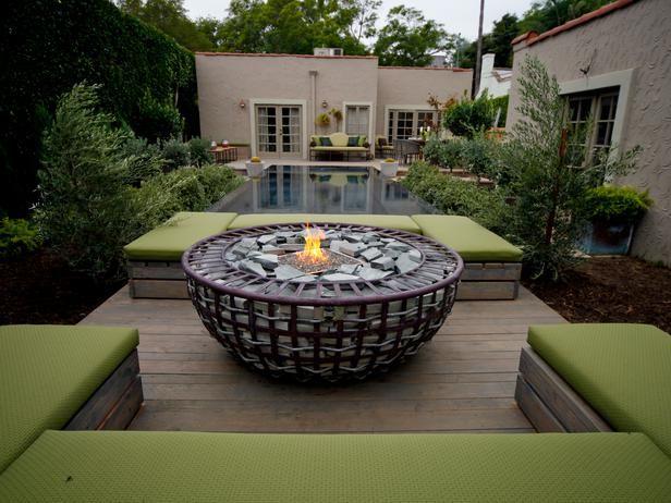 Fire Pit Bowl - 20 Backyard Fire Pit Design Ideas on HGTV