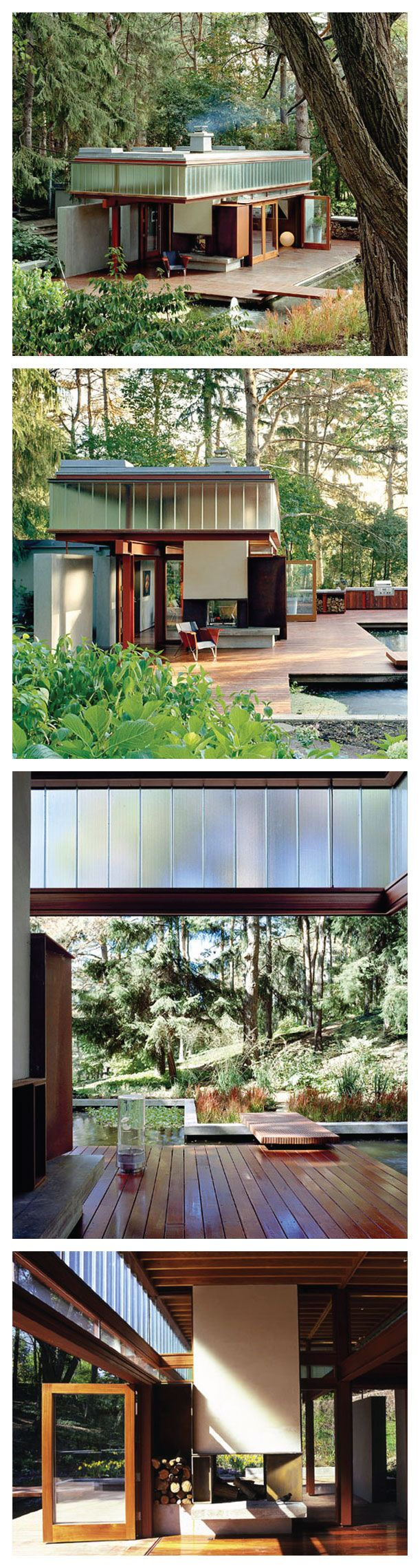 The Ravine Guest Home by Shim-Sutcliffe Architects