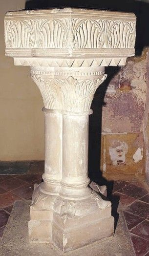 02.030.0466.32163.17789.5482 Fonts baptismaux de Saint-Germain-d'Hardricourt
