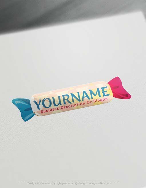 Free Logo Maker – Online Candy logo design