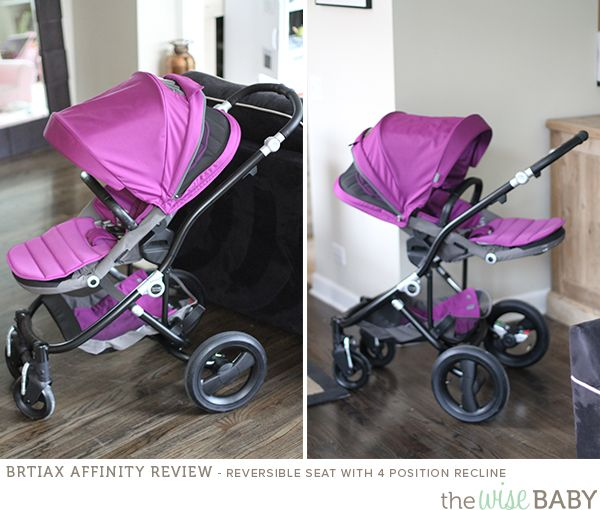 Britax Affinity review - reversible seat
