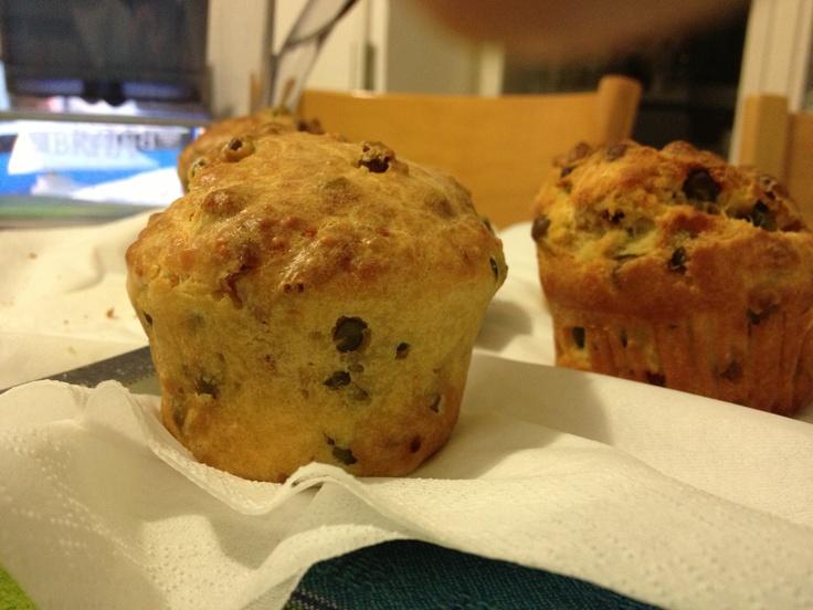 Salad muffins