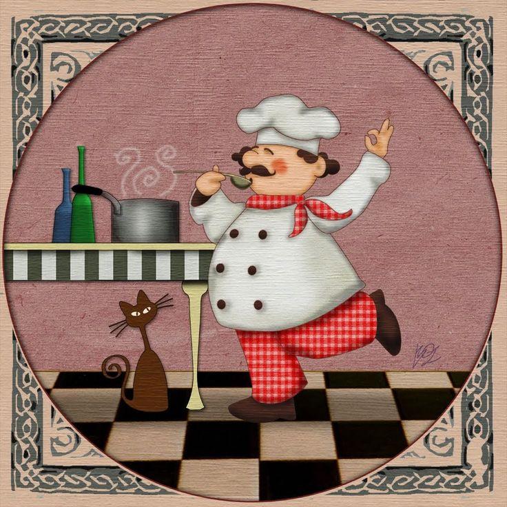 167 mejores im genes sobre cocina ilustraciones en - Imagenes de cocinas para imprimir ...