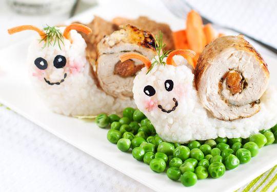Такое интригующее блюдо не останется без внимания детей