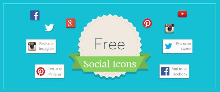 Free Social Media Icons from the @createdotnet blog. Includes Facebook, Twitter, GooglePlus, Pinterest and Instagram. Visit http://www.create.net/blog/121430-free-social-icons-for-facebook-twitter-and-more.html