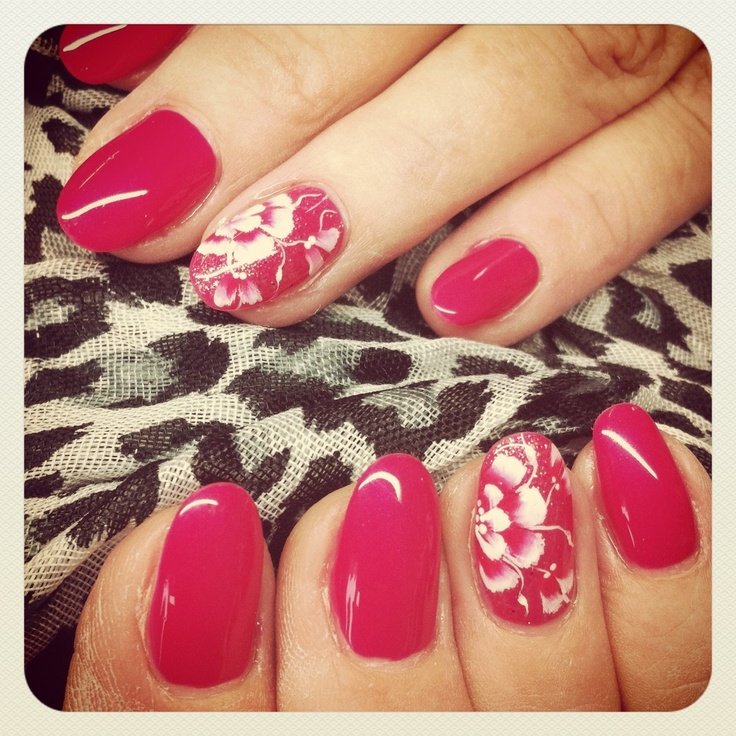 11 best One Stroke Flower Nails images on Pinterest | Flower nails ...