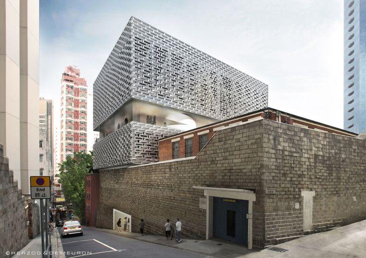 Herzog & de Meuron . Central police station . Hong Kong (1)