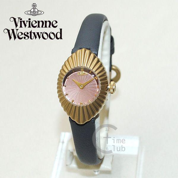 Vivienne Westwood (ヴィヴィアンウエストウッド) 腕時計 VV096RSGY グレー レザー/ゴールド 時計 レディース ヴィヴィアン 【送料無料(※北海道・沖縄は1,000円)】