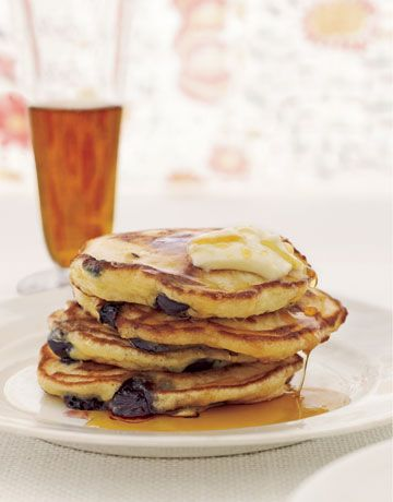 With our easy make-ahead dry-mix recipes, you need only add a few wet ingredients to enjoy fluffy homemade waffles and pancakes like this any time of the day, any day of the week.