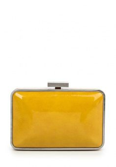 Клатч Olga Berg, цвет: желтый. Артикул: OL001BWKSQ77. Женские аксессуары / Сумки