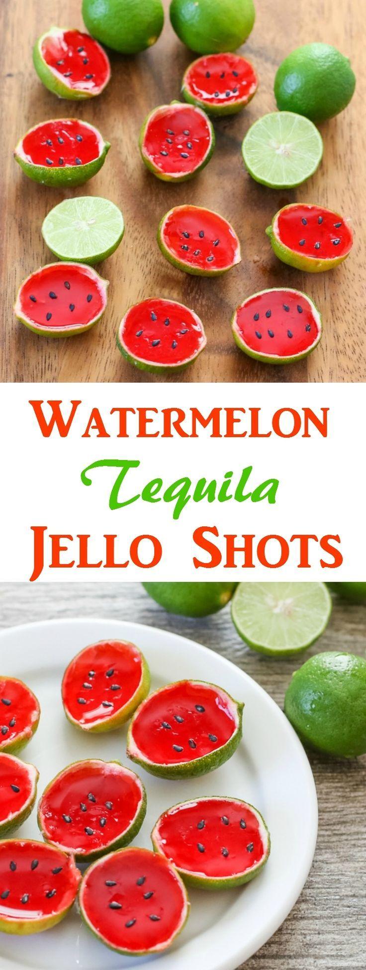 Watermelon Tequila Jello Shots | Kirbie's Cravings | A San Diego food & travel blog