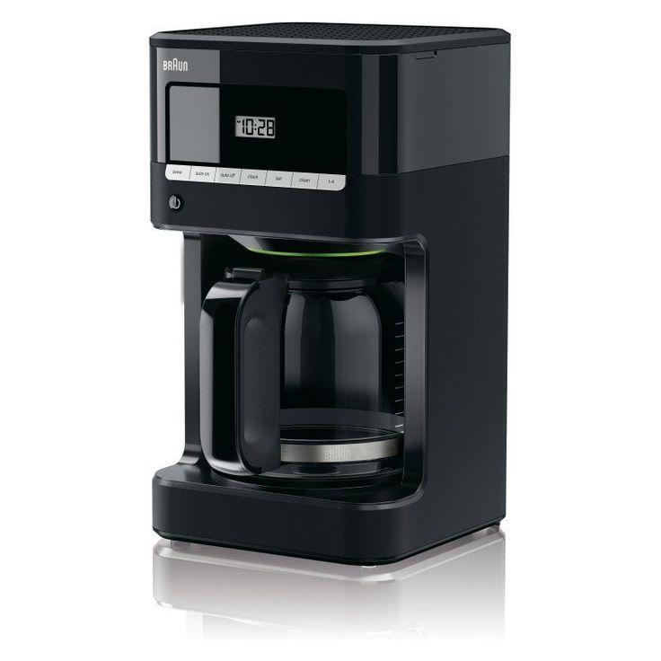 Braun KF7000BK BrewSense 12 Cup Drip Coffee Maker - Black - KF7000BK