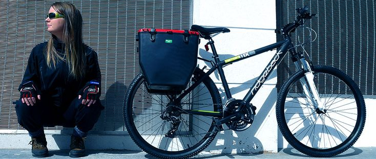 Bikebins - Loving this pannier idea.  I would size it to hold a bag of shopping, and spec it in recycled plastic.