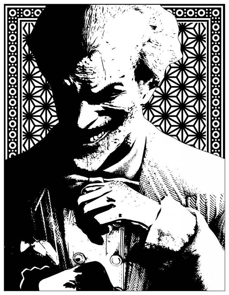 pin auf the joker