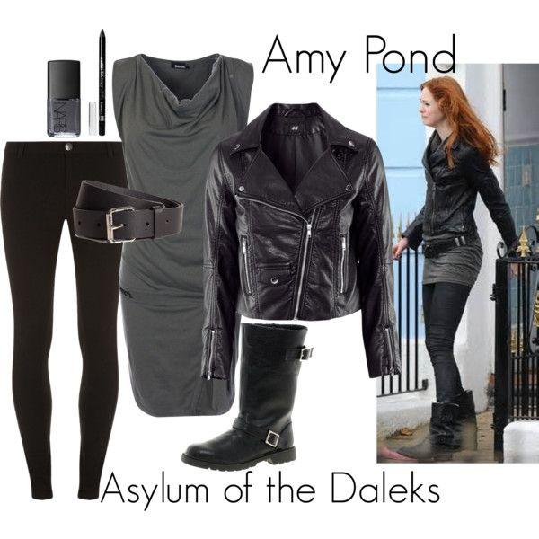 """""""Amy Pond - Asylum of the Daleks"""" by ansleyclaire on Polyvore"""