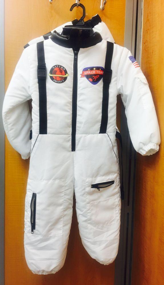 Halloween Costume Child Premium Jr Astronaut Costume Small Size 4 New | eBay