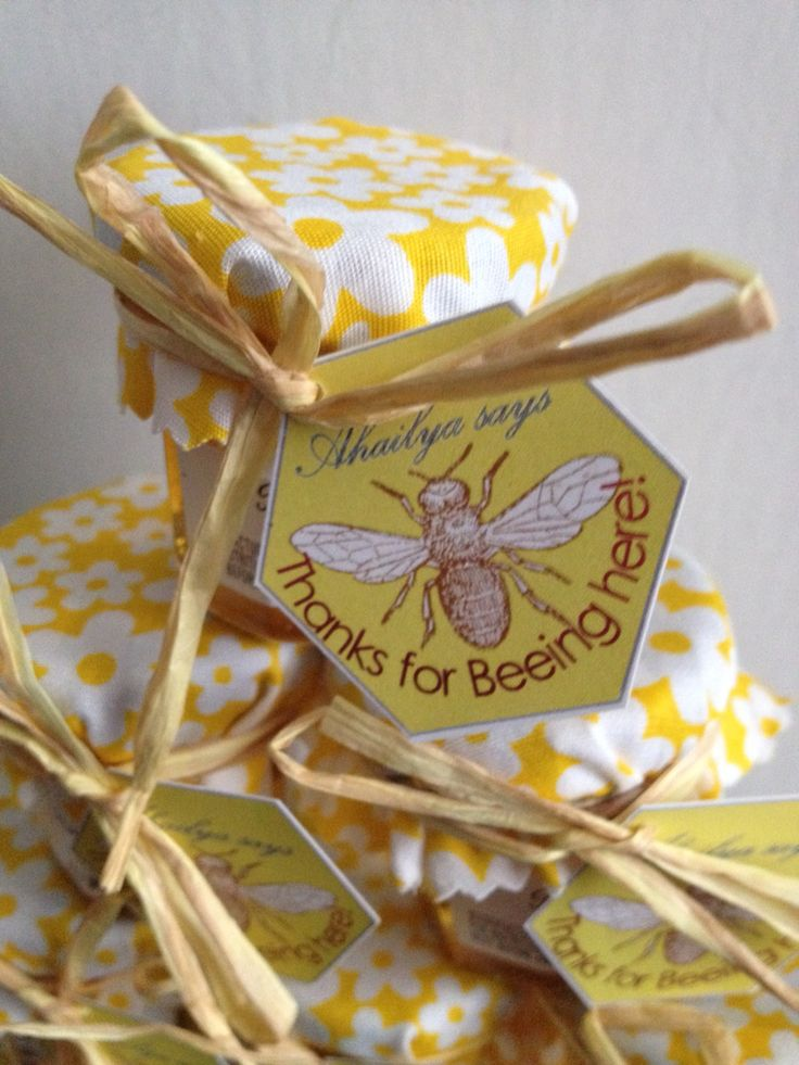 Mummy to Bee baby shower favours