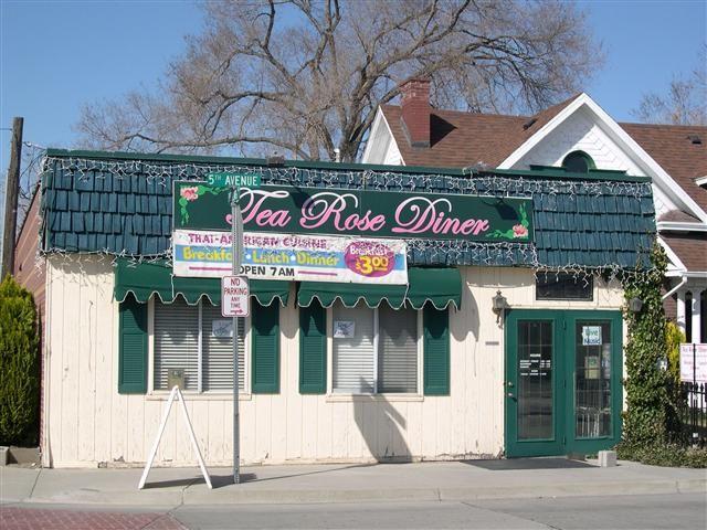 Tea Rose Diner - Murray Utah. Best Thai food.