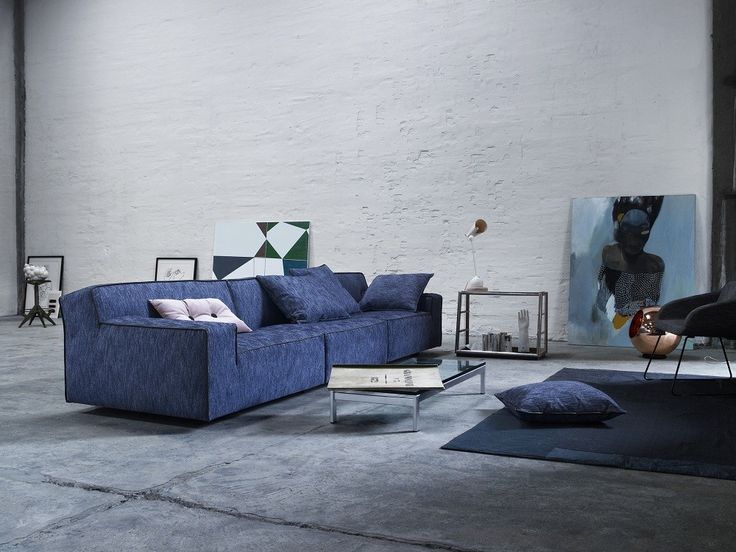 Gotham is derived from one of Eilersen's biggest successes, Baseline, which is extremely consistent and very popular. #furniture #modernfurniture #livingroom #sofa #fabricsofa