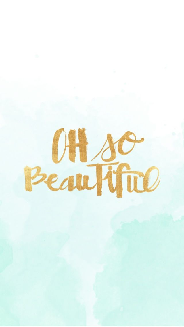 iPhone Wallpaper Freebies to make you smile - Oh So Beautiful | more at graceandjosie.com